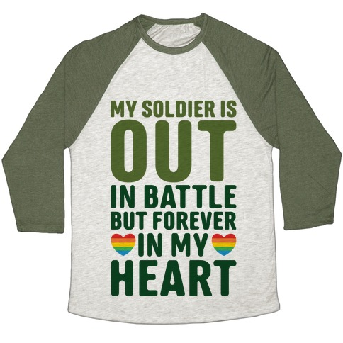 Out Soldier Baseball Tee