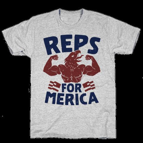 Reps For 'Merica Mens T-Shirt