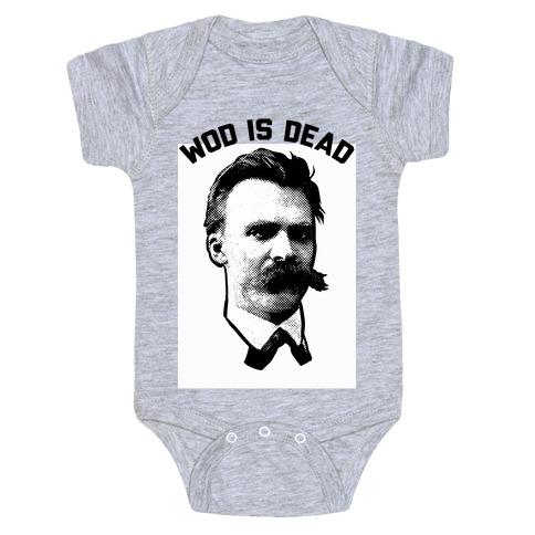 WOD is Dead Baby Onesy