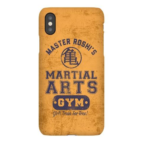 Master Roshi's Martial Arts Gym Phone Case