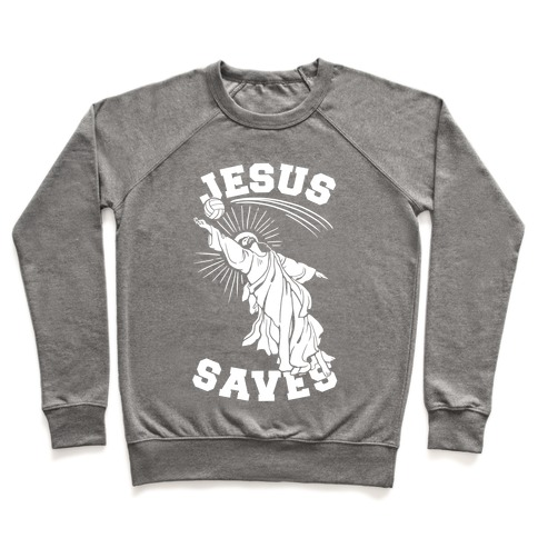 Jesus Saves (Volleyball) Pullover