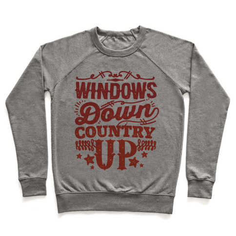 Windows Down Country Up Pullover