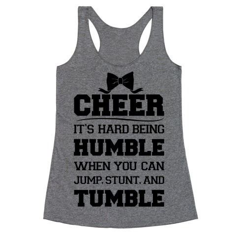CHEER Racerback Tank Top