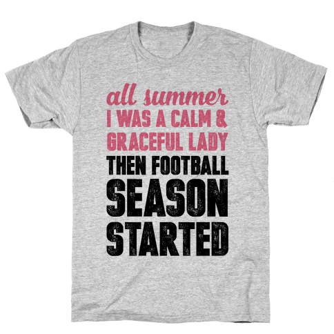...Then Football Season Started