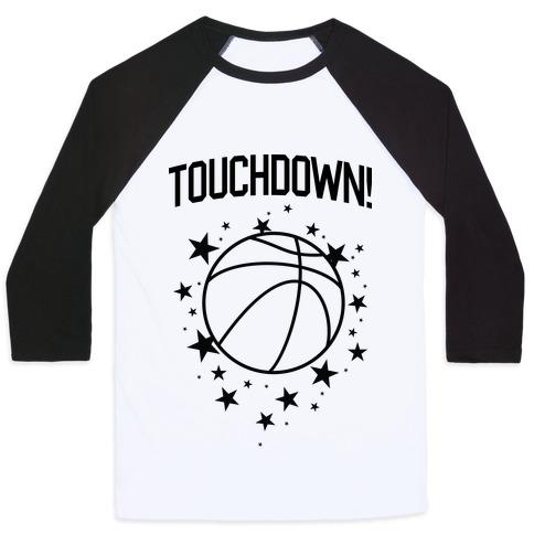 Touchdown! Baseball Tee