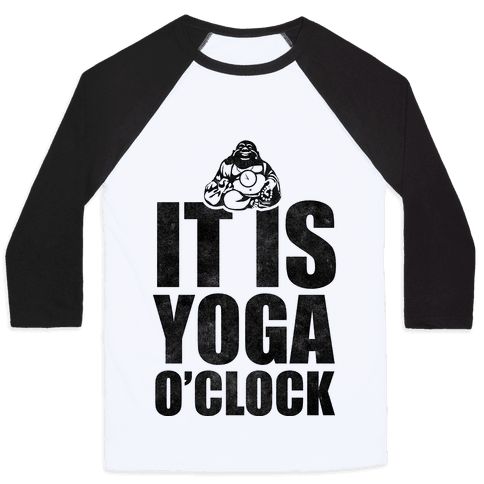 Yoga O'Clock Baseball Tee