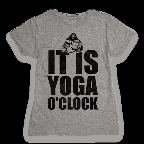 Yoga O'Clock Womens T-Shirt