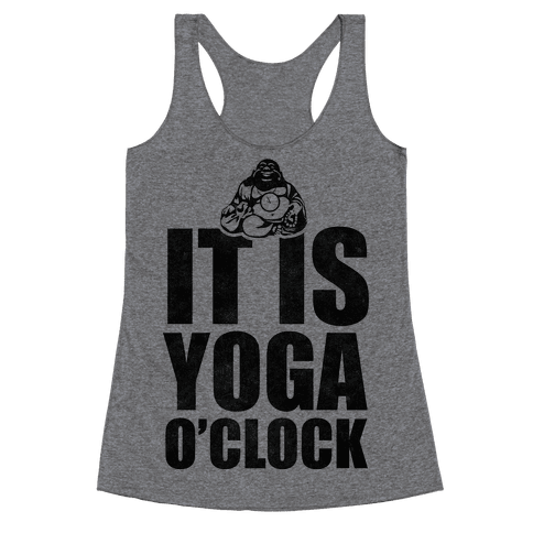 Yoga O'Clock Racerback Tank Top
