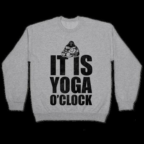 Yoga O'Clock Pullover