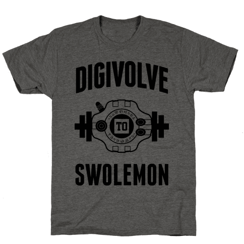 Digivolve to Swolemon!