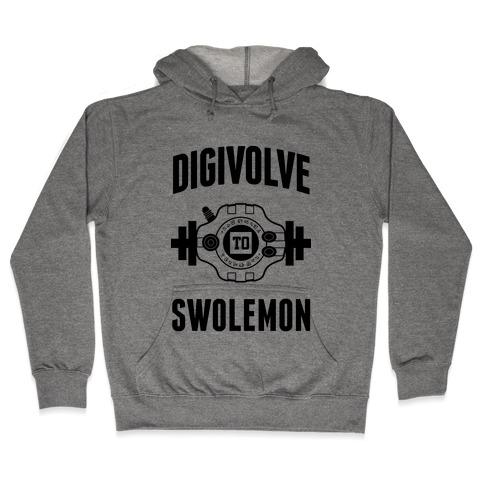 Digivolve to Swolemon! Hooded Sweatshirt