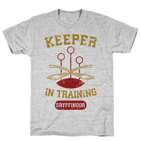 Keeper In Training (Gryffindor) Mens T-Shirt
