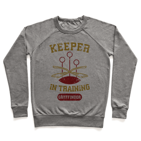 Keeper In Training (Gryffindor) Pullover
