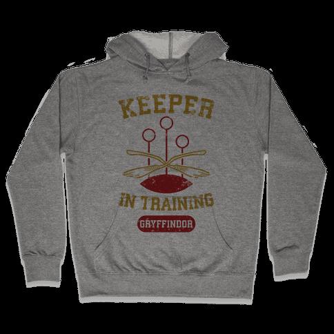 Keeper In Training (Gryffindor) Hooded Sweatshirt