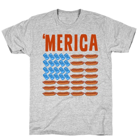 Beer, Hotdogs & 'Merica T-Shirt