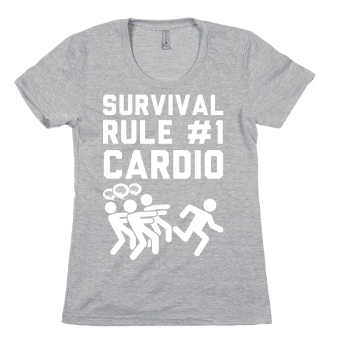 Rule One Cardio Womens T-Shirt