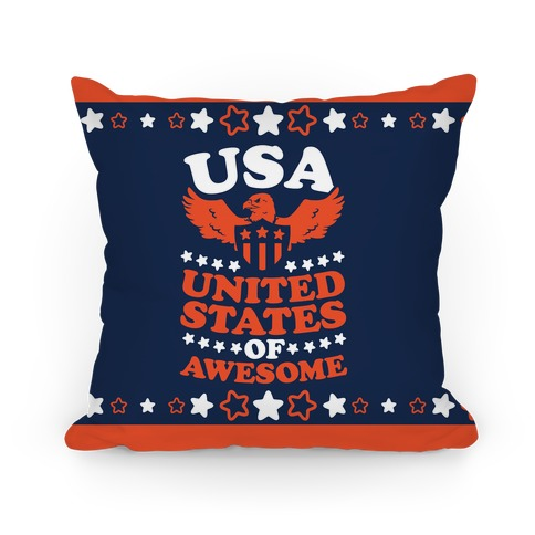 United States of Awesome Pillow