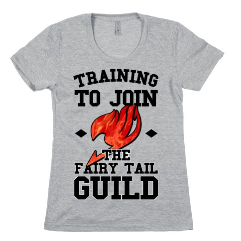Training to Join the Fairy Tail Guild Womens T-Shirt