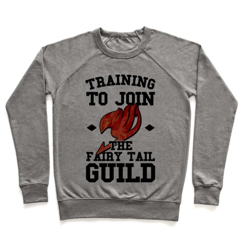 Training to Join the Fairy Tail Guild Pullover