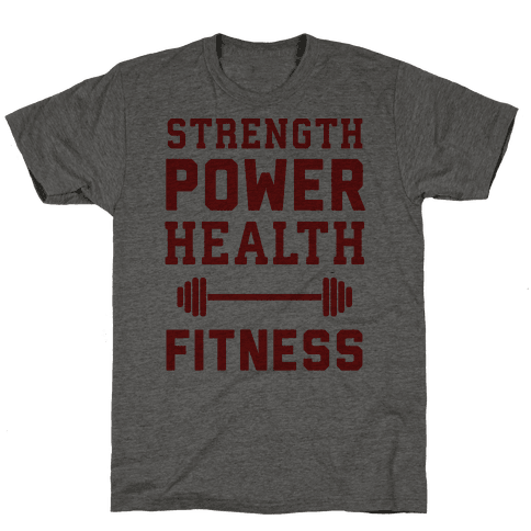 Strength, Power, Health - Fitness