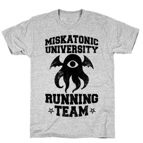 Miskatonic University Running Team T-Shirt