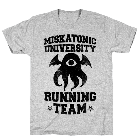 Miskatonic University Running Team Mens T-Shirt