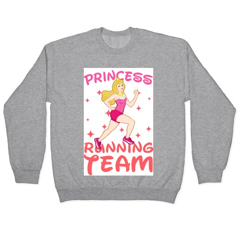Princess Running Team (Pink) Pullover
