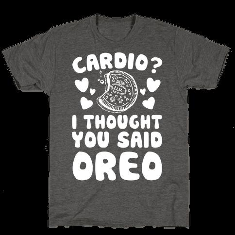 Cardio? I Thought You Said Oreo
