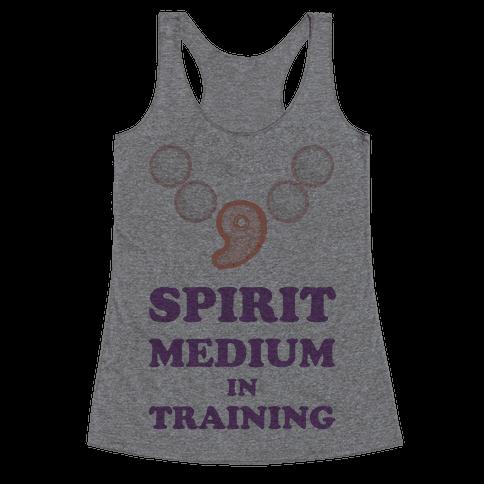Spirit Medium In Training Racerback Tank Top