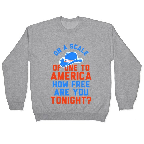 Patriotic Pick Up Pullover