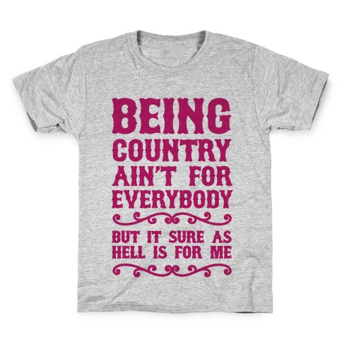 Being Country Kids T-Shirt