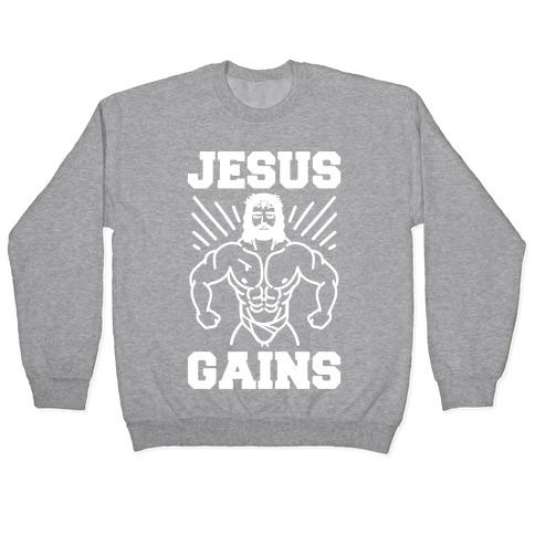Jesus Gains Pullover