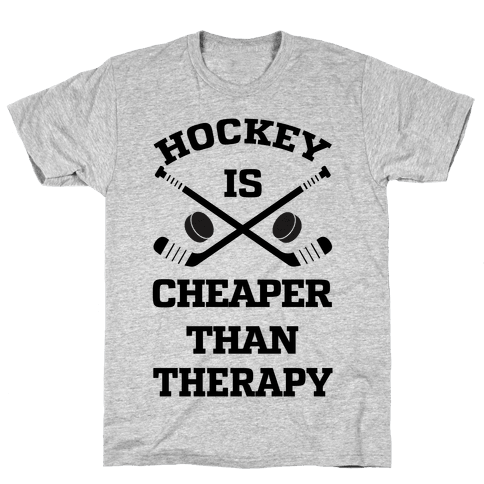 Hockey Is Cheaper Than Therapy