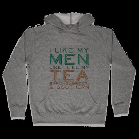 Southern Men Tank Hooded Sweatshirt
