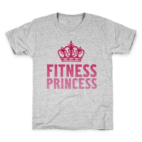 Fitness Princess Kids T-Shirt