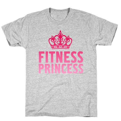 Fitness Princess Mens T-Shirt