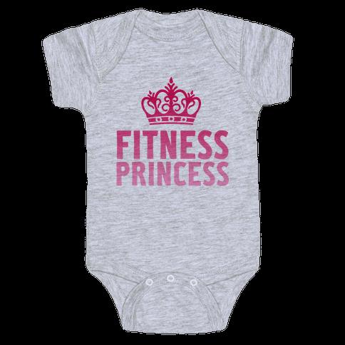Fitness Princess Baby Onesy