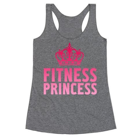 Fitness Princess Racerback Tank Top