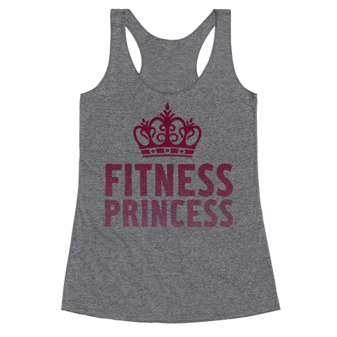 Fitness Princess Racerback Tank Top