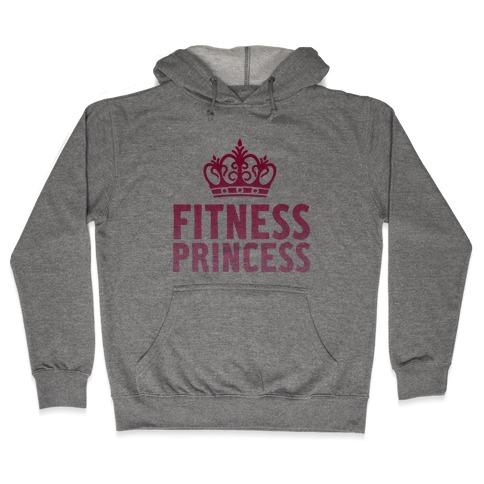 Fitness Princess Hooded Sweatshirt