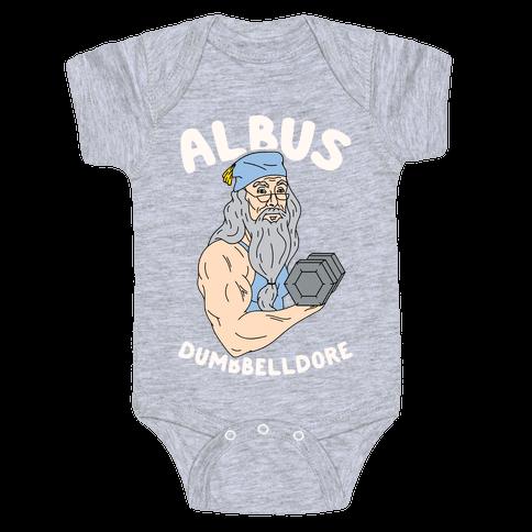 Albus Dumbbelldore Baby Onesy