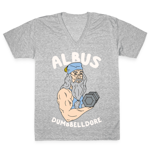 Albus Dumbbelldore V-Neck Tee Shirt