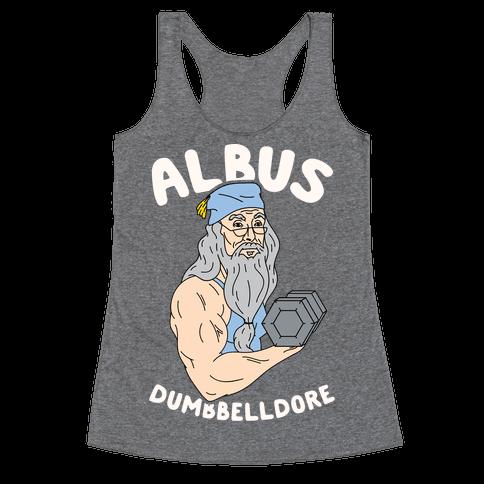 Albus Dumbbelldore Racerback Tank Top