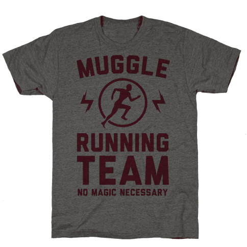 Muggle Running Team - No Magic Necessary