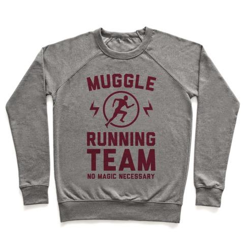 Muggle Running Team - No Magic Necessary Pullover