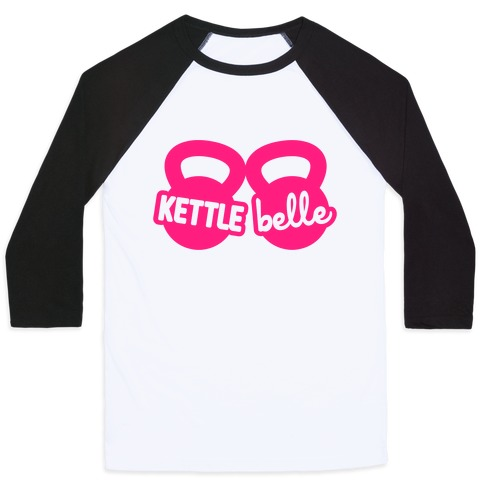 Kettle Belle Crop Top Baseball Tee