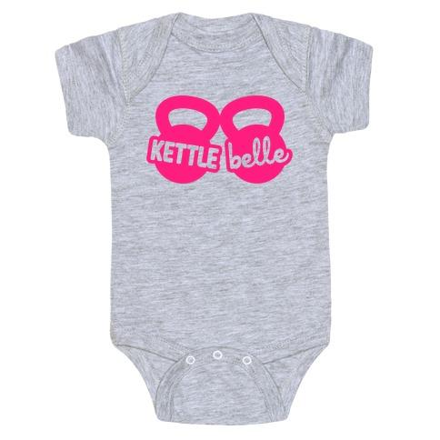 Kettle Belle Crop Top Baby Onesy