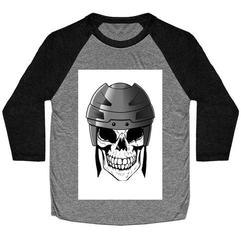 Hockey or Die Baseball Tee