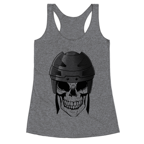 Hockey or Die Racerback Tank Top