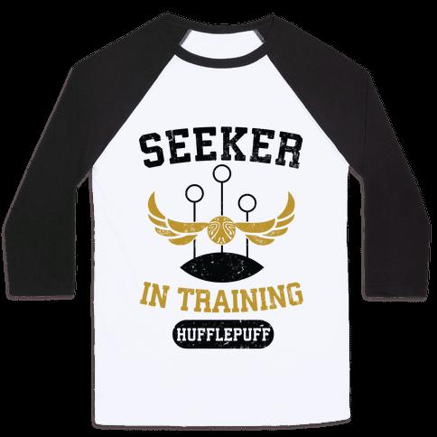Seeker In Training (Hufflepuff) Baseball Tee
